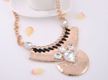 Buy GOLD STATEMENT NECKLACE