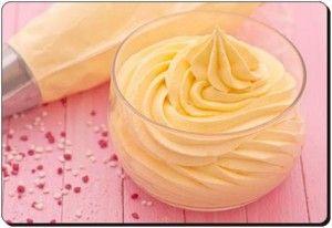 Сливочный крем с медом и желатином