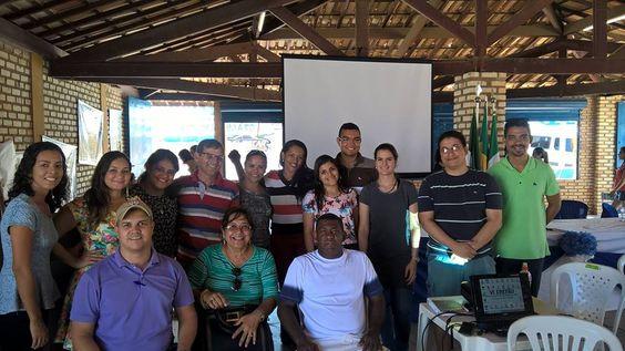 2016-09-09 Rosangela Azevedo e os Fiscais em Tibau do Norte - RN eleita Maceió