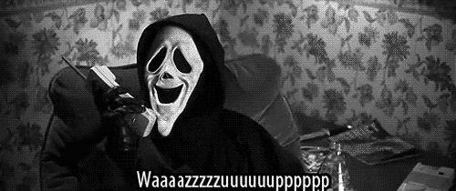 scary white mask | ... scary, haha, scream, tongue, scary movie, mask, ghost, black, white