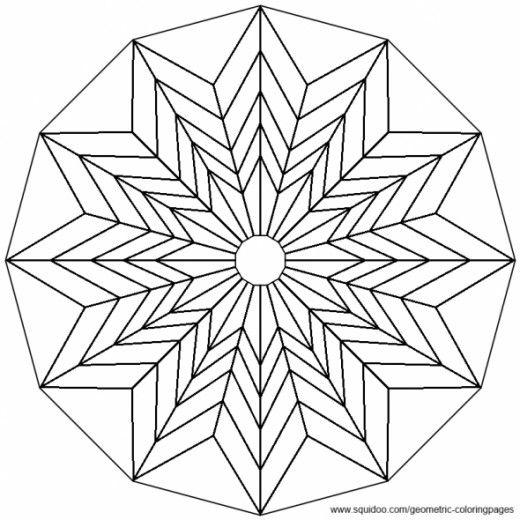 Geometric Coloring Pages Geometric Coloring Pages Mandala Coloring Pages Tessellation Patterns