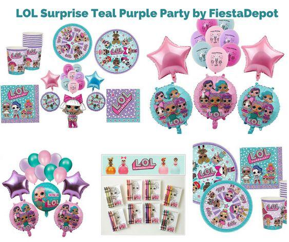 LOL Surprise Teal Purple Party by FiestaDepot
