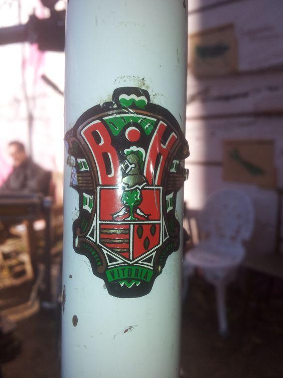 La bici Martínez restaurada de Noel para Laura.
