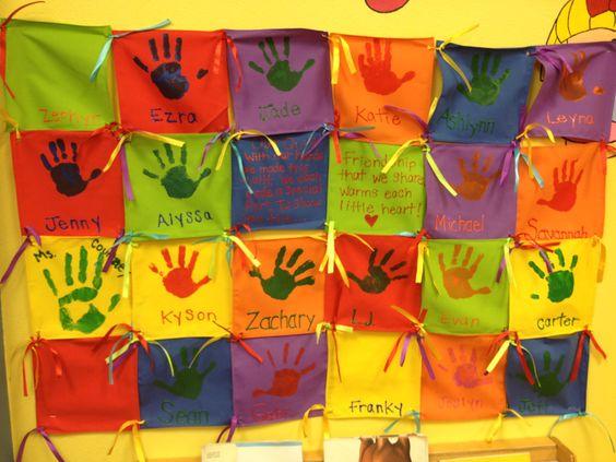 Classroom Quilt Themes ~ Preschool class quilt q is for pinterest