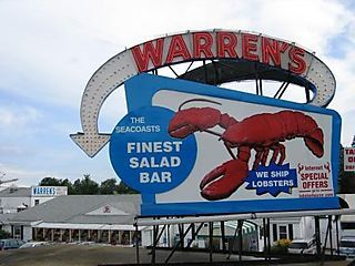 LOL...I remember eating here as a kid!  Good ole Kittery, ME  :)