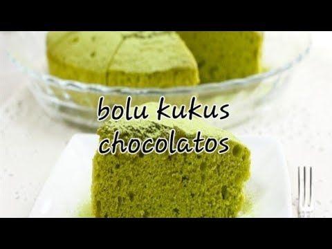 Cara Membuat Bolu Kukus Chocolatos Green Tea Tanpa Mixser Tanpa Pengembang Youtube Green Tea Bolu Food