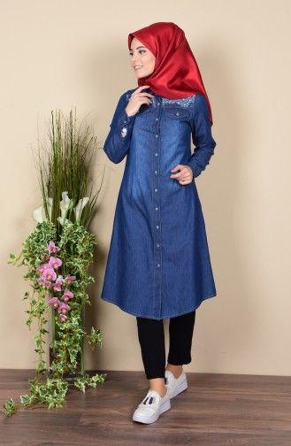 Sefamerve Kot Tunik Modelleri Tunik Moda Stilleri Gomlek Elbise