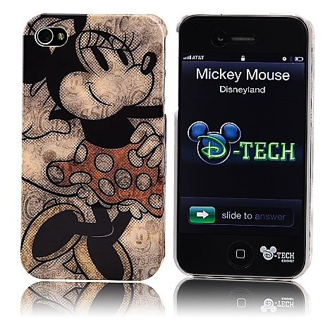 Classic Minnie Mouse iPhone 4 Case