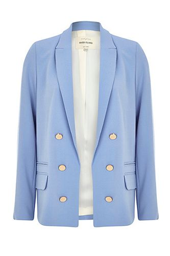 20 Amazing Pieces To Help Land Your Summer Internship #refinery29  http://www.refinery29.com/internship-style#slide2  River Island Relaxed Fit Blazer, $110, available  at River Island.