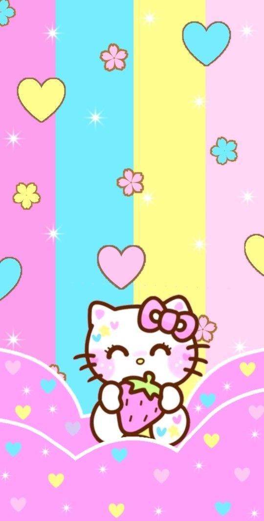 Pin By Adieteack Adieteack On Wallpaper Criado Por Mim Hello Kitty Backgrounds Hello Kitty Wallpaper Sanrio Hello Kitty