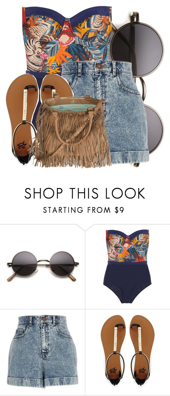 """""""11/01/14"""" by chassi ❤ liked on Polyvore featuring Zimmermann, River Island, 2b bebe and Steve Madden"""