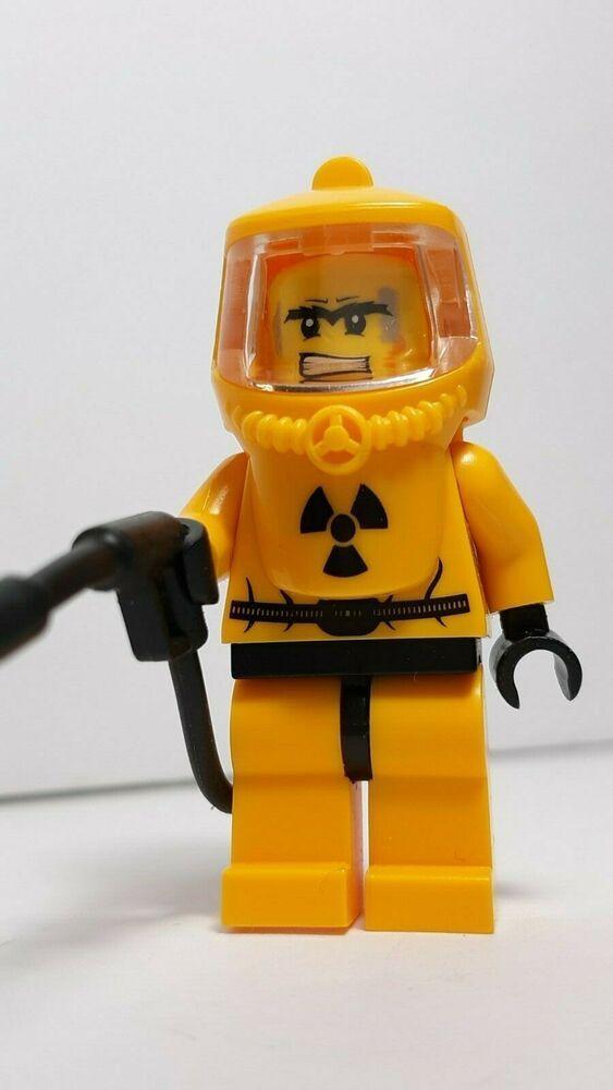 Hazmat Suit Man Custom Lego Figure {Brand New}