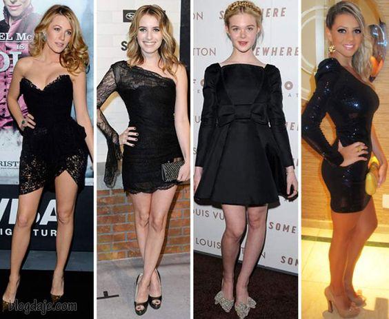 vestido de festa preto