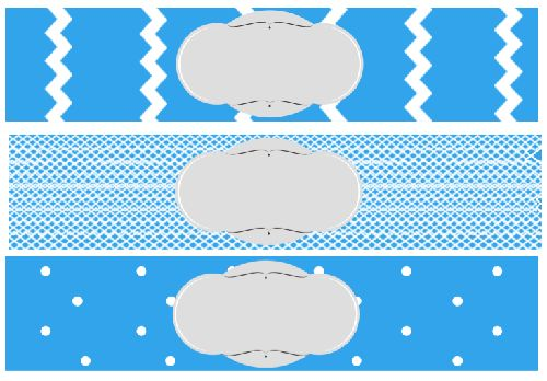 free printable baby shower water bottle label blue