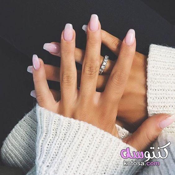 أبرز ألوان المناكير لشتاء 2020 الوان مناكيير موضة السنة طلاء اظافر 2020 احدث الوان المناكير Pink Nail Designs Dip Powder Nails Powder Nails