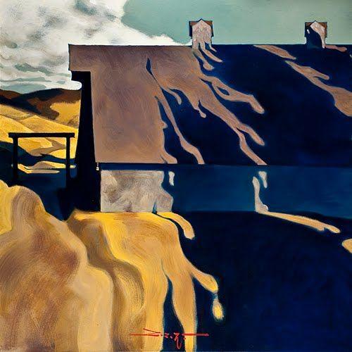 Z.Z. Wei aka Zhao Bai Wei (b. 1957, Beijing, China) Paintings: Oil on Canvas: