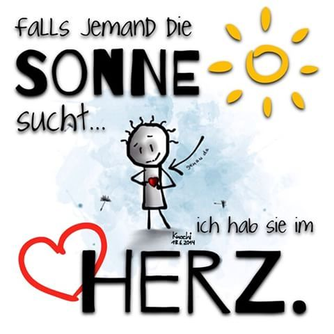 Falls jemand die ☀️ #Sonne sucht,ich hab sie im ❤️ #Herz…