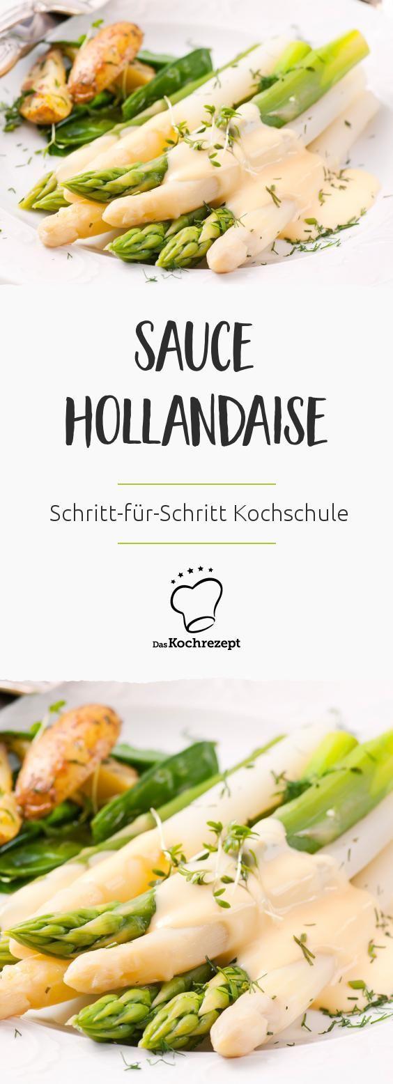 Kochschule Sauce hollandaise   DasKochrezept.de – Kochrezepte ...