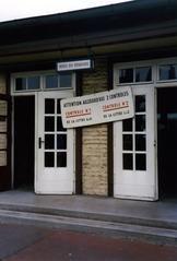 Am Bahnhof der Franzoesischen Allierten in Berlin