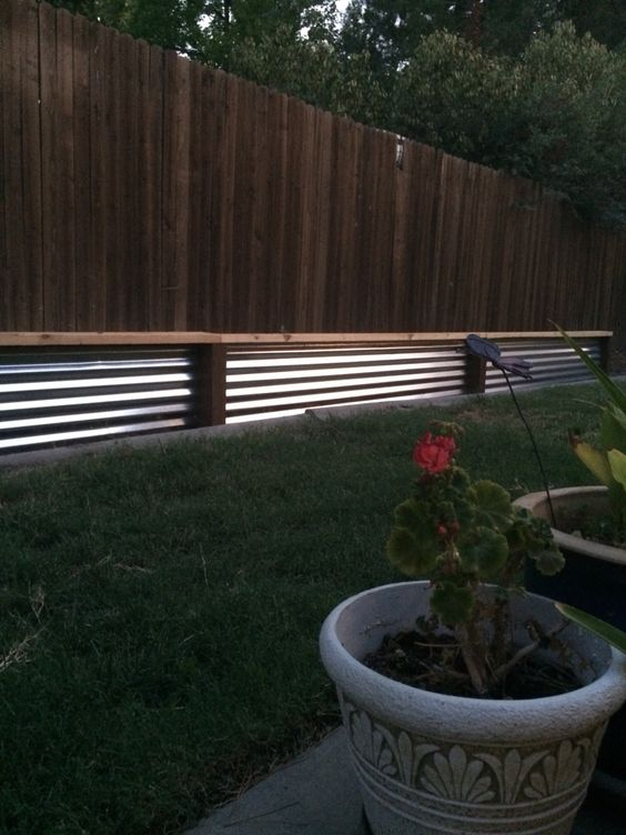Low Retaining Wall With Bench Easy Diy Low Cost