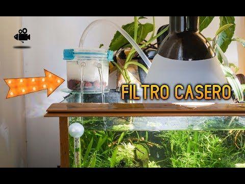 Cómo Hacer Un Filtro Para Pecera Casero Homemade Aquarium Filter Youtube Peceras Para Tortugas Decoracion De Peceras Peceras Para Bettas