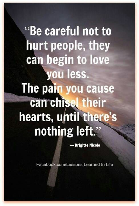 Hurt The One We Love Quotes Archidev