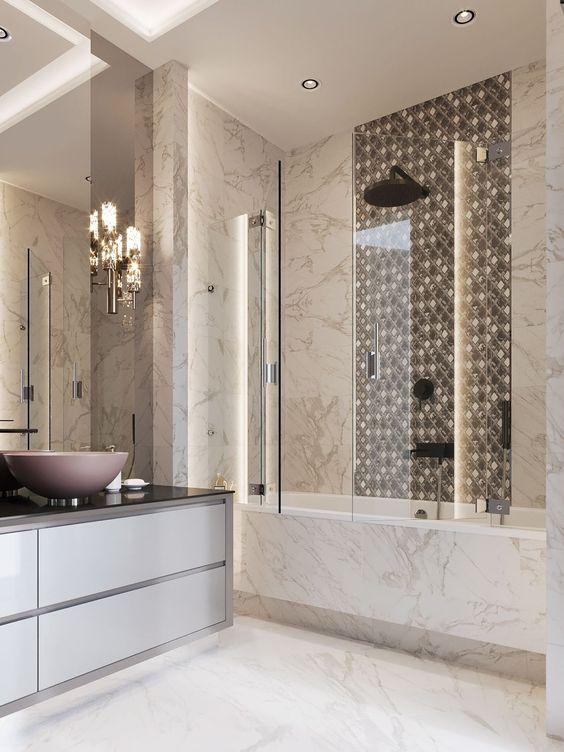 Adorable Modern Bathroom