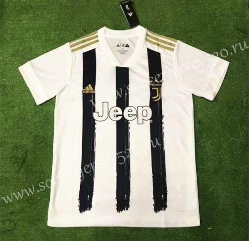 2020 2021 Juventus Home Black White Thailand Soccer Jersey Aaa 403 Soccer Jersey Juventus Soccer