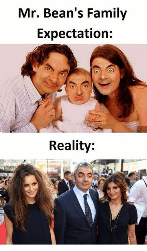Mr. Bean Family