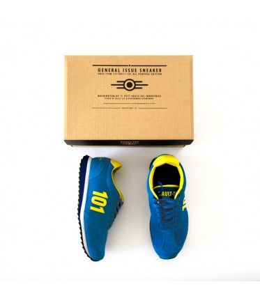 The Bethesda Store - Vault 101 Sneaker - Accessories  I'm pretty sure I need these!