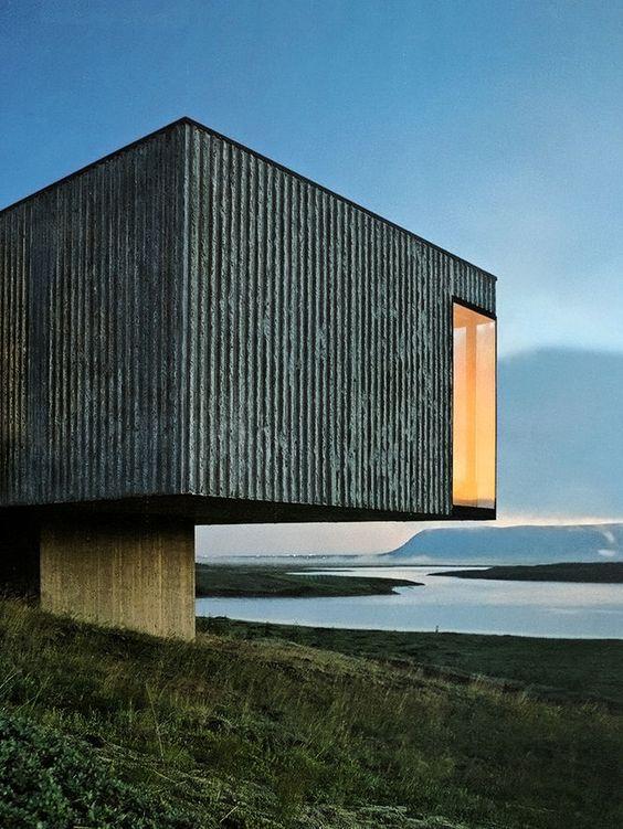 Casa e paisagem-PK Arkitektrar-photo Pálmar Kristmundsson (via Casas | Arkpad)