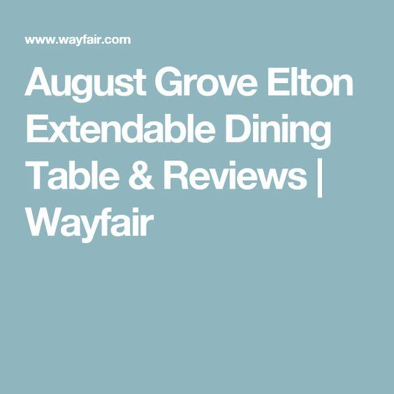 August Grove Elton Extendable Dining Table & Reviews   Wayfair