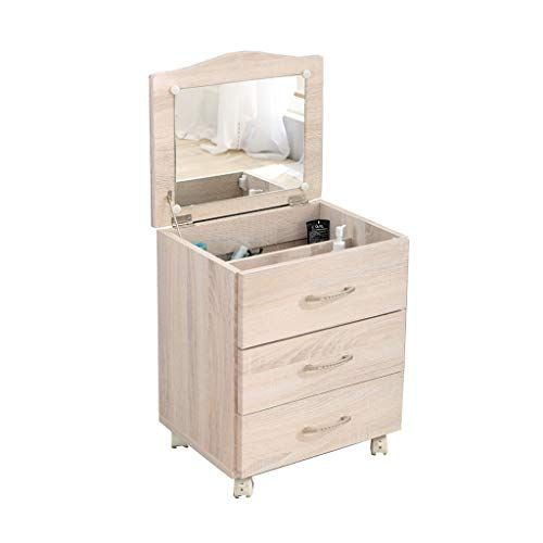 Bedside Table Dressers Integrated Combo Table Small Bedroom With Mirror Dressing Table Multi Functional Removable Storage Ca Table Cabinet Colors Bedside Table