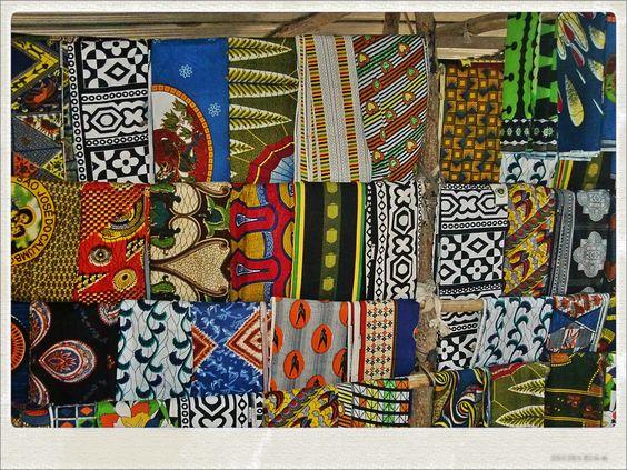 tecidos - Angola