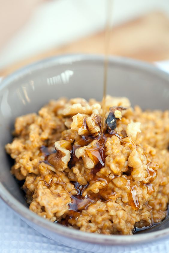 Pumpkin pie oatmeal, Maple syrup and Pumpkin pies on Pinterest