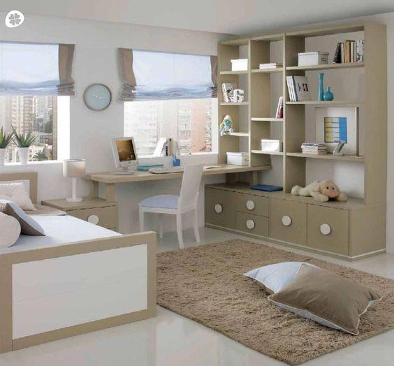 Realizamos muebles y escritorios para ni os y j venes a - Dormitorios juveniles hechos a medida ...