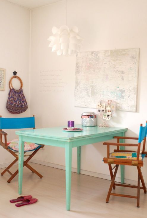 Nice table color. :-)