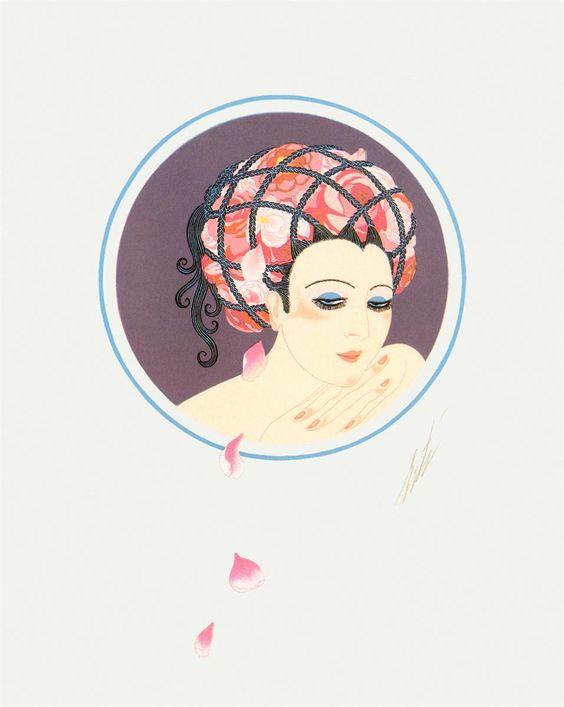 Erté: The Rose Turban