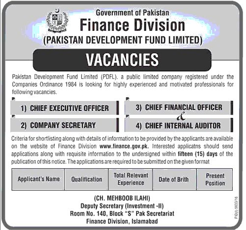 chief executive officer jobs in pakistan 8 november 2016 Jobs In - chief executive officer job description