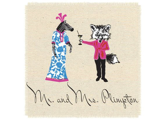 muffie the zebra and james the fox