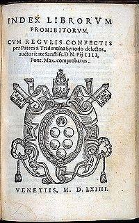Index Librorum Prohibitorum et Expurgatorum 1559 - Búsqueda de Google