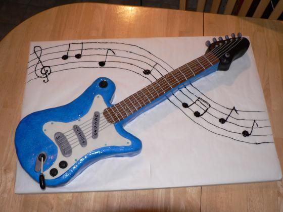 crazy cakes the o 39 jays and guitar cake on pinterest. Black Bedroom Furniture Sets. Home Design Ideas