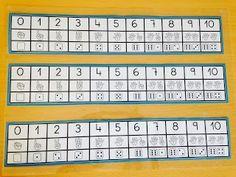 ABN HUERTA RETIRO: Infantil 3 años. Recta numérica con apoyo de dedos y dados.