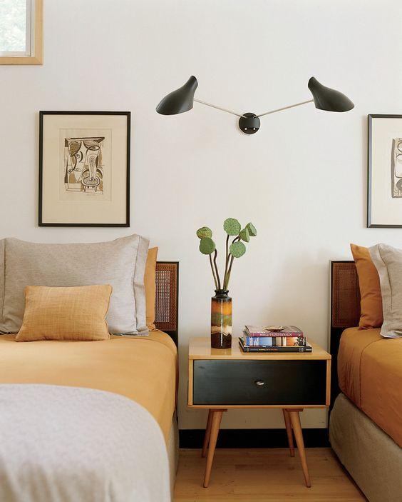 Kent Lake House - modern - bedroom - new york - Amy Lau Design