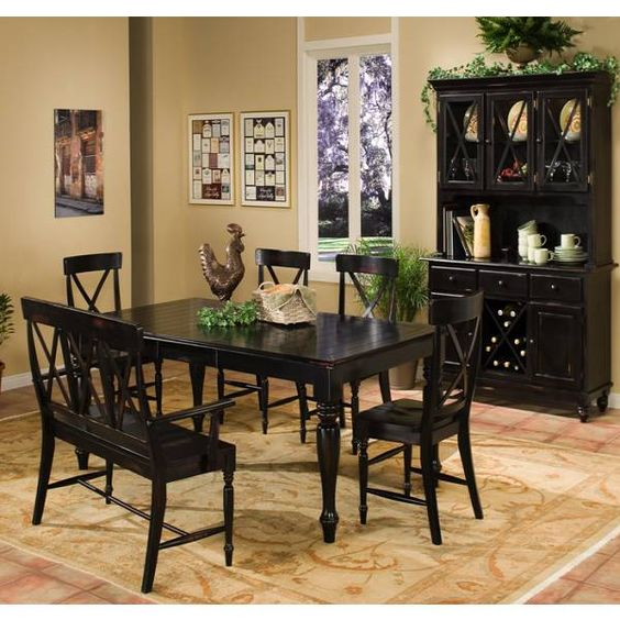 Roanoke Dining Group Intercon Star Furniture Houston
