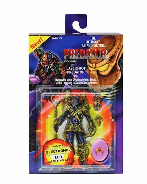 "7/"" Scale Action Figure Predator Ultimate Lasershot Predator NECA"