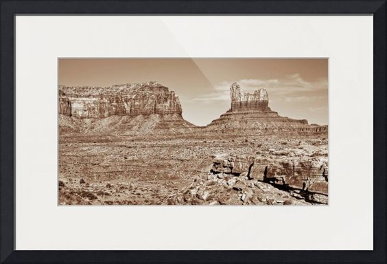 """""""Monuments v"""" by Beautifully Scene Images, Grafton // Monument Valley, Utah. // Imagekind.com -- Buy stunning fine art prints, framed prints and canvas prints directly from independent working artists and photographers."""