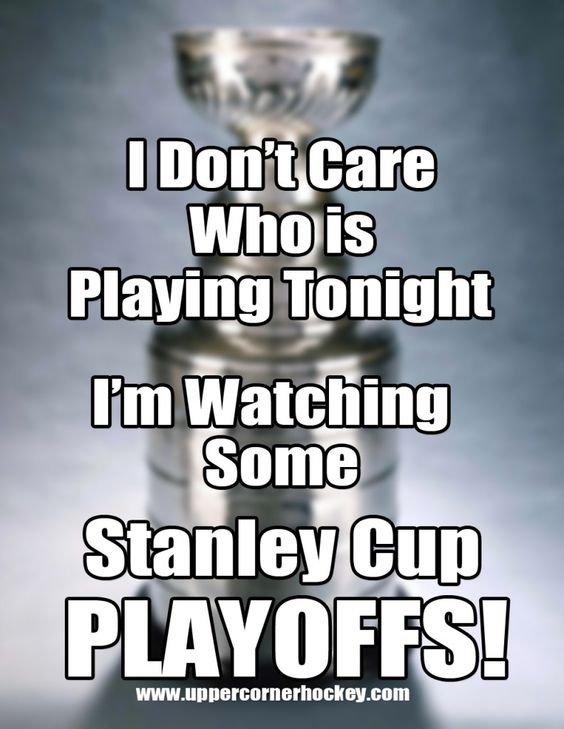 hockey memes | Stanley Cup Playoff Hockey Meme