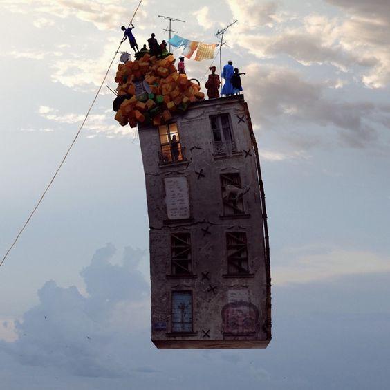 Flying Houses - La grande illusion