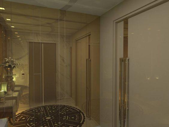 Hall de Entrada - Apto Residencial